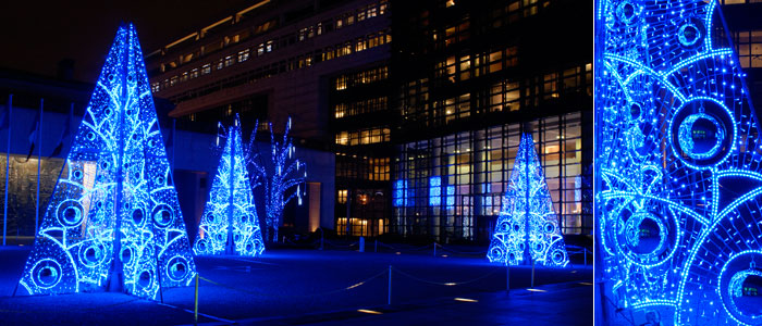 Christmas Illuminations at Bercy, Paris